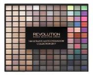 Палетка теней MakeUp Revolution 144 Ultimate Matte Eyeshadow Collection: фото