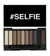Палетка теней I Heart Makeup Slogan Palette Makeup Revolution Selfie with mini primer: фото