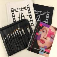 Набор кистей Make-Up Atelier Paris ATELIER-11 в чехле, 11 шт.: фото