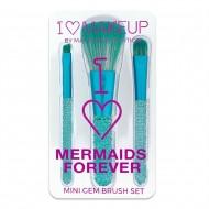 Набор кистей для макияжа I Heart Makeup Mermaids Forever Brush Kit: фото