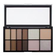 Палетка для макияжа глаз и контуринга Makeup Revolution Epic Day Palette: фото
