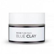 Очищающая маска для лица Riche Cosmetics Голубая глина 50гр: фото