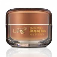 Ночная крем-маска с экстрактом женьшеня Llang, 50 мл: фото