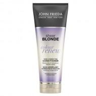Кондиционер для восстановления и поддержания оттенка осветленных волос John Frieda Sheer Blonde СOLOUR RENEW 250 мл: фото