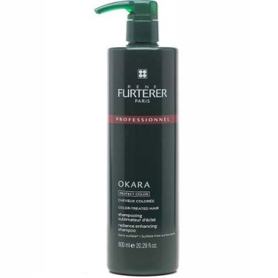 Шампунь защитный для окрашенных волос для усиления сияния Okara Rene Furterer Salon 600 мл: фото