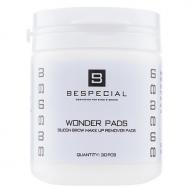 Силиконовые диски Bespecial Wonder Pads для снятия макияжа с бровей (30 штук): фото