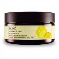 Насыщенное масло для тела тропический ананас и белый персик Ahava Mineral Botanic 235 гр: фото