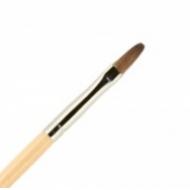 Кисть для ногтей ВАЛЕРИ-Д (лак) из волоса пони №4 овальная: фото