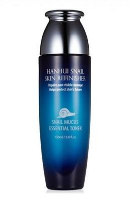 Тонер антивозрастной с муцином улитки BERGAMO Snail skin refinisher essential toner 150 мл: фото
