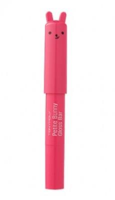 Блеск для губ TONY MOLY Petit bunny gloss bar 09 Neon Red: фото