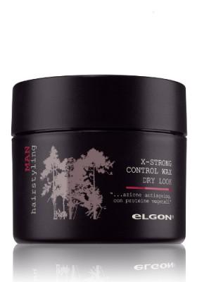 Воск текстурирующий мужской экстрасильной фиксации ELGON MAN X-STRONG CONTROL WAX DRY LOOK, 100 мл: фото