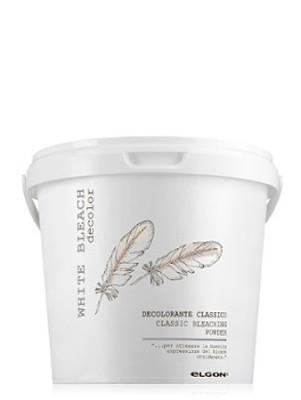 Обесцвечивающий порошок супра белая ELGON DE-COLOR WHITE BLEACH EMPOWERED, 500 гр: фото