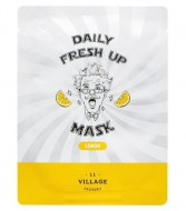 Маска с экстрактом лимона VILLAGE 11 FACTORY Daily Fresh up Mask Lemon: фото