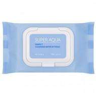 Очищающие салфетки для лица MISSHA Super Aqua Perfect Cleansing Water In Tissue: фото