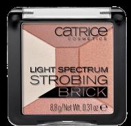 Хайлайтер мультицветный 5в1 CATRICELight spectrum strobing brick 10 Brown Brilliance: фото