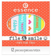 Пилочка для ногтей ЕSSENCE file & smile mini nail files: фото