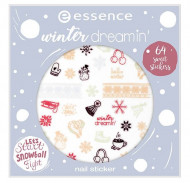 Наклейки для ногтей Essence Winter Dreamin' Nail Sticker Winter 2018: фото