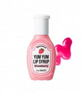 Тинт для губ увлажняющий THE SAEM Saemmul Yum Yum Lip Syrup 03 Strawberry 10гр: фото