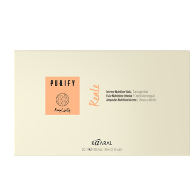 Лосьон интенсивный восстанавливающий для обезвоженных волос Kaaral Purify- Reale Vials 12*10мл: фото