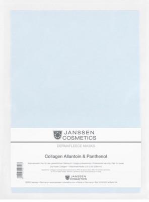 Коллагеновая биоматрица с аллантоином и пантенолом Janssen Cosmetics Collagen Allantoin 1лист: фото