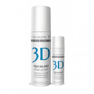 Гель-маска с гиалуроновой кислотой Collagene 3D AQUA BALANCE 30 мл: фото