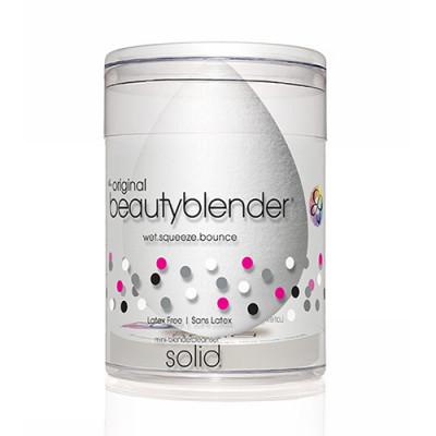 Спонж beautyblender pure + мини мыло для очистки solid blendercleanser белый: фото