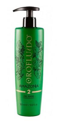 Шампунь очищающий на основе масла Шаг 2 Orofluido Rinse Oil Amazonia 500 мл: фото