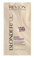 Средство для защиты волос после обесцвечивания Revlon Professional BLONDERFUL BOND DEFENDER 20мл: фото