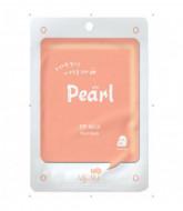 Маска тканевая с жемчугом Mijin on Pearl mask pack 22гр: фото