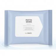 Салфетки для снятия макияжа с глаз и губ THE SAEM Phyto Seven Lip and Eye Makeup Remover Pad 30шт: фото