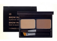 Палетка для макияжа бровей THE FACE SHOP BROWMASTER EYEBROW KIT02 GRAY BROWN 4г: фото