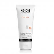 Мыло жидкое для лица GIGI City NAP Charcoal Peeling soap 200мл: фото