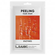 Обновляющая тканевая маска с энзимами L.SANIC ENZYMES PEELING MASK SHEET 25 мл: фото