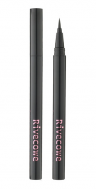 Подводка для глаз RIVECOWE Beyond Beauty Flexible Liquid Brushpen Eyeliner черный: фото