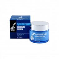 Увлажняющий крем для лица с гиалуроновой кислотой ZENZIA Hyaluronic Acid Ampoule Cream: фото