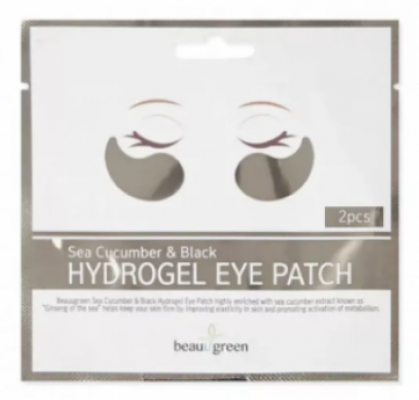 Патчи для глаз Beauugreen Sea Cucumber&Black Hydrogel Eye Patch 1 пара: фото