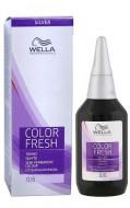Краска оттеночная с кислым значением pН Wella Professionals Color Fresh Silver 0/6 жемчужный 75 мл: фото