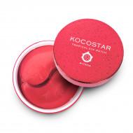 Патчи для глаз гидрогелевые с экстрактом плодов питайи Kocostar Tropical Eye Patch Pitaya 60 шт