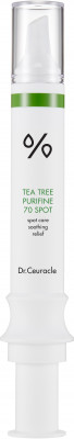 Точечное средство для лица с чайным деревом Dr.Ceuracle Tea Tree Purifine 70 Spot 12 мл: фото