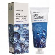 Крем для рук с морской водой Lebelage Moisturizing Hand Cream Aqua 100мл: фото
