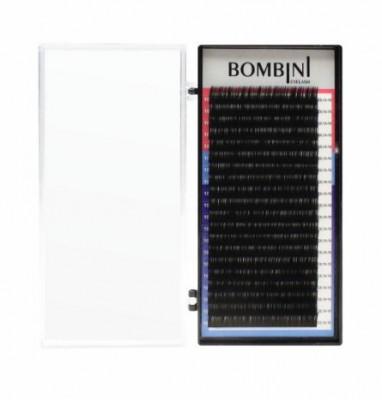 Ресницы Bombini Черные, 20 линий, С, 0.07, 8: фото
