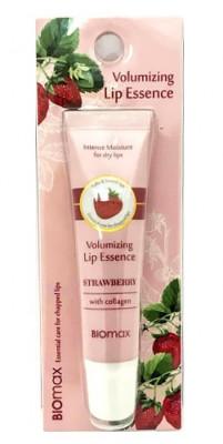 Эссенция для губ с экстрактом клубники BIOmax Volumizing Lip Essence Strawberry 10 мл: фото