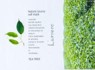 Тканевая маска с экстрактом чайного дерева L'arvore Nature Source Cell Mask Tea Tree 25 г: фото
