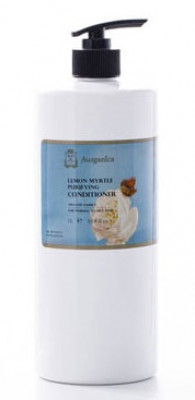 Кондиционер очищающий для жирных волос Лимонный Мирт Ausganica 1000 мл: фото