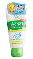 Крем-скраб для лица против акне MENTHOLATUM Acnes Scrub in Face Wash 130 мл: фото